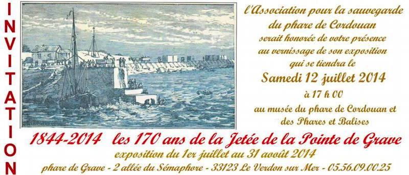 Les 170 ans de la jetée de la Pointe de Grave